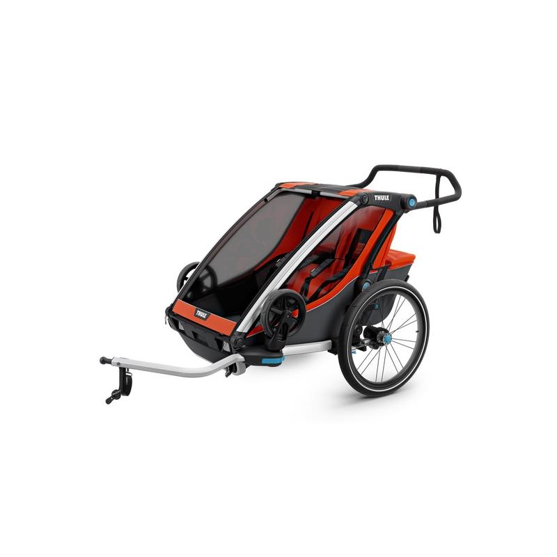 Jalgrattakäru kahele lapsele Chariot Cross 2, (VIIMANE!)