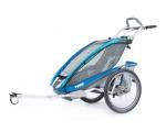 Universaalne spordikäru Thule Chariot CX 1, sinine