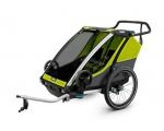 Jalgrattakäru kahele lapsele Thule Chariot Cab 2