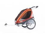 Мультиспортивный велосипедный прицеп Thule Chariot Corsaire 2 с набором для крепления к велосипеду