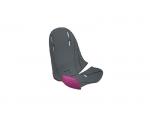 Обивка для детского велосипедного сиденья Thule RideAlong Mini, темно серая / фиолетовая