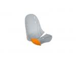 Обивка для детского велосипедного сиденья Thule RideAlong Mini, светло серая / оранжевая