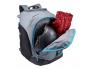Рюкзак Thule RoundTrip с отделением для обуви, черный/синий