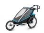 Universaalne spordikäru Thule Chariot Sport, sinine/must